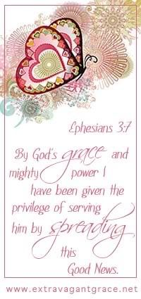 Ephesians 3:7 By God's grace