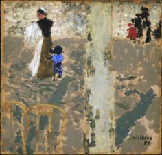 Nurse with a Child in a Sailor Suit//Edouard Vuillard//The Phillips Collection, Washington, D.C.
