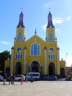 Iglesia de Castro, la más conocida de las Iglesias de Chiloé