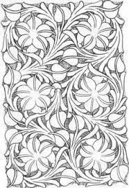 Resultado de imagen de printable leather tooling patterns