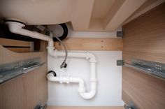 Plumbing Hack IKEA Bathroom Sink Drain Connections Saves Space So - Ikea bathroom renovation