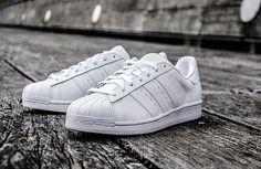 "adidas Superstar Foundation ""Triple White"""