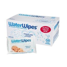 Honest Waterwipes Baby Wipes Sensitive Newborn Skin 9 Packs Of 60 Wipes 540