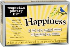 Dedicated New Magnetic Poetry Kit The Artist Write Letters On The Fridge Orders Are Welcome. Educational