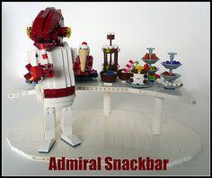 Lego Admiral Ackbar + snacks by Lino M.