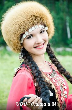 Красавицы башкирки.Beautiful girl Bashkir.