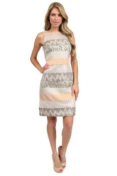 Printed lace 2-in-1 dress next