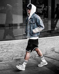 mens outfits fashion, mens fashion:cat y streetwear fashi Urban Fashion, Mens Fashion, Fashion Outfits, Fashion Edgy, Urban Outfits, Fashion 2018, Fashion Styles, Fashion Fashion, Sneakers Fashion