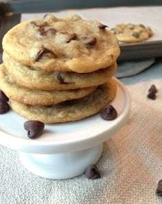 Another pinner said - The BEST Chewy Chocolate Chip Cookie recipe! Amaaazing!! I used chocolate chunks instead of chips and added a dash of cinnamon to the flour mixture. I will never make any other choc. chip cookie recipe!!!!!! -AM