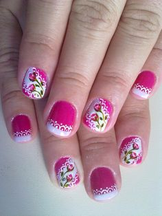26 light pink gel nails with silver glitter 3 Pink Nail Colors, Pink Gel Nails, Pink Nail Art, Flower Nail Art, Glitter Nails, Pink Nail Designs, Nail Polish Designs, Summer Toe Nails, Exotic Nails