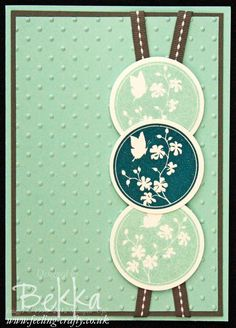 Sophisticated Serene Silhouettes Card by Stampin' Up! Demonstrator Bekka Prideaux - check her blog for lots of other cards made with this stamp set