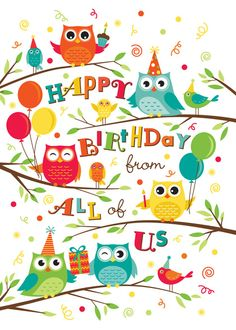 Preview Image For Product Titled Owl Trageous Greetings Corporate Holiday Cards Birthday