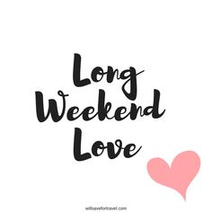 everyone 👏❤️🥰 We are spending our long weekend catching up with family, seeing friends and going to What's your ? Long Weekend Quotes, Happy Long Weekend, Three Day Weekend, Its Friday Quotes, Sunday Quotes, Good Morning Quotes, Me Quotes, Best Friend Poems, Girls Weekend Gifts