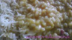 Risotto Zucca e Pancetta