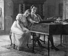 Fanny and Felix Mendelssohn <3