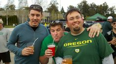 #EOpdx Team Portland EO mugging it up at the Ducks Game tailgate