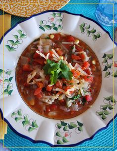 Mexican Tomato-Potato Soup