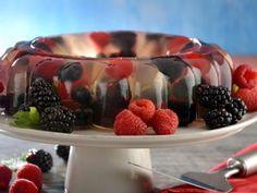 Receta de Gelatina de Frutos Rojos Tradicional