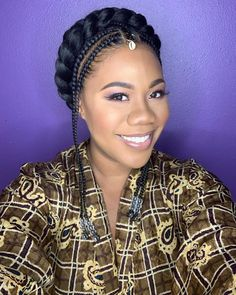 12 Ways To Update Your Halo Braid For The Holidays - Essence Quick Diy Hairstyles, Wedding Hairstyles Tutorial, Braided Hairstyles For Wedding, Crown Hairstyles, Black Girls Hairstyles, Twisted Hairstyles, Hairstyle Tutorials, Updo Hairstyle, Wedding Updo