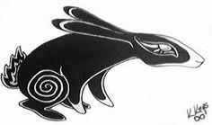 Hare/Rabbit design. Love it.
