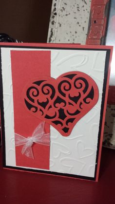Handmade Love Greeting Card by jennrainescreations on Etsy