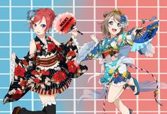 || Maki & You || I don't think that there are pictures of them together, so here's my edit of these two pretty girls