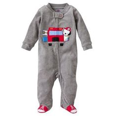 Taggies Fire Truck Terry Cloth Sleep and Play - Baby