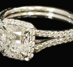 This engagement ring is available EXCLUSIVELY at TWO by LONDON!