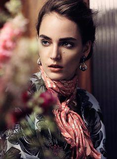 Photo Zuzanna Bijoch by Takay for Harpers Bazaar Germany November 2015