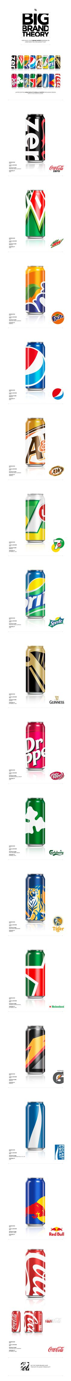 BIG BRAND THEORY: Packaging Design / Ewan Yap