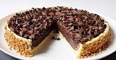 Luxusní čokoládový dort ala Panna cotta - My site Tart Recipes, Cheesecake Recipes, Sweet Recipes, Sweet Desserts, No Bake Desserts, Dessert Recipes, No Bake Cookies, No Bake Cake, Panna Cotta