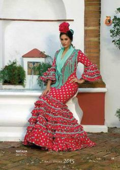 Traje de Flamenca modelo Natalia