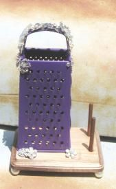 Rodeo Cowgirl Jewelry Stand cheese grader stand $37.00