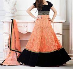 Get Online Anarkali Salwar Kameez at Mirraw.com