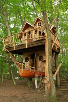 Trendy tree house to live in treehouse jungles Ideas