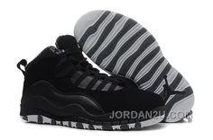 online store 57655 d07ce Pas Cher Nike Air Jordan 10 Kids Noir 2014 Chaussures Enfants En Ligne  Blanc Jordan 11