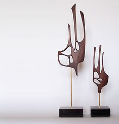 Mid Century Modern Abstract Art Sculpture Danish Mod 50s 60s | eBay