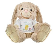 Personalised baby sleepsuitbabygrow any name easter bunny easter meadow bunny personalised birthdays thank you messages baby gift teddy make someone feel special negle Image collections