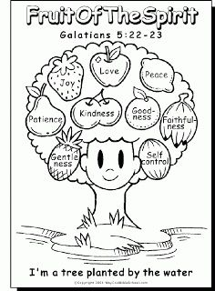 Free Coloring Pages Showing Kindness. Fruit of the Spirit  Going to use this for Bible studies with my nieces 10 free printable coloring sheets based on