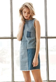 A Shoppable Denim Dresses Guide: What to Buy, How to Wear Them | StyleCaster
