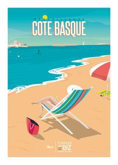 © Marcel x Tissage de Luz MERVEILLEUSE COTE BASQUE www.marcel-biarritz.com