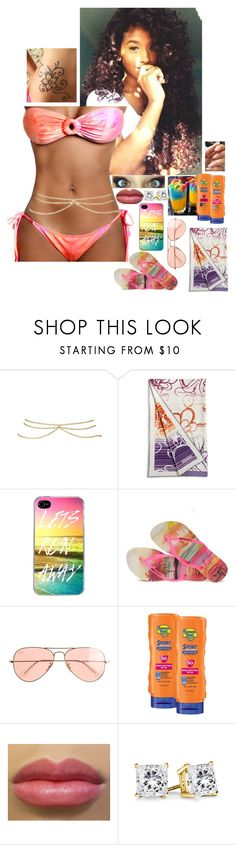 """""""8/07/15"""" by ashli-nr ❤ liked on Polyvore featuring ASOS, Missoni Home, Havaianas, J.Crew and Banana Boat"""