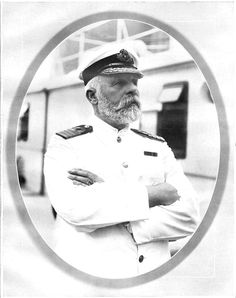 Captain Edward J Smith.went down with his ship. Titanic Today, Rms Titanic, Titanic History, Interesting Facts, Trivia, Darkness, Fun Facts, Nostalgia, Wicked