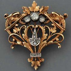 Art Nouveau Jewelry | Fay Cullen