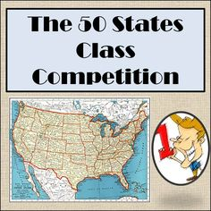 This is an activity I use in my Geography Unit to encourage students to be able to quickly identify each of the 50 states. This challenge is based on accuracy and then by time. Included are instructions, numbered states map, answer key, certificate to print off for the winner, and an Excel spreadsheet already set up with simple instructions to generate a master list.   Check out my other 50 States Activity at http://www.teacherspayteachers.com/Product/50-States-Bingo-Review-Activity-110817