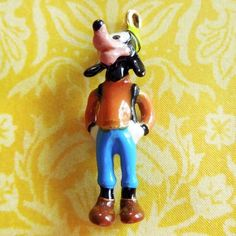 Enamel Disney Friend Goofy Gold Plated Charm from The Bradford Exchange from A Genuine Find