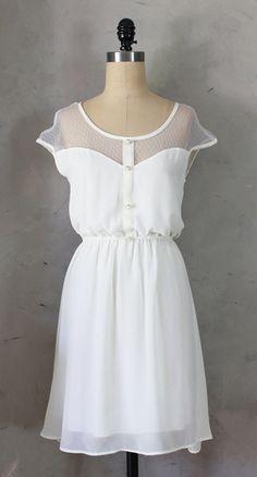 Petit Dejeuner Dress Ivory