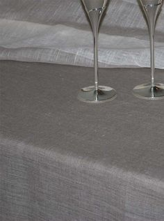Linen Tablecloth Natural Grey145cmx145cm by magdalinenHome on Etsy