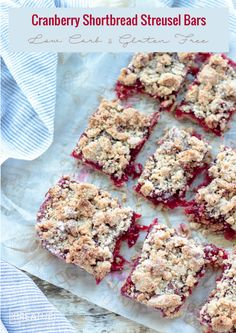dishmaps cranberry walnut streusel bars cranberry walnut streusel bars ...