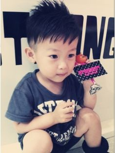 ストロング27(STRONG27) キッズ☆ストロング☆ Boy Fashion, Mens Fashion, Asian Babies, Boy Hairstyles, Little Boys, Kids Boys, Hair Cuts, Hair Beauty, Children